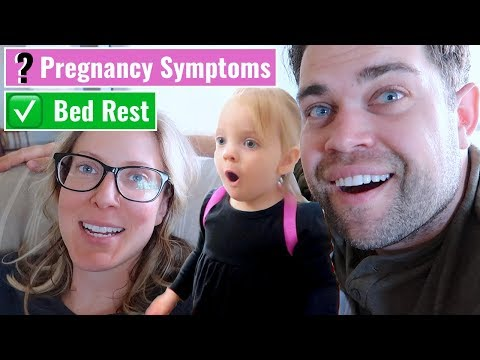 Are These PREGNANCY SYMPTOMS❓+  ✅Off BED REST!