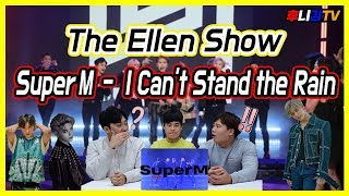 (The Ellen Show) SuperM - I Can't Stand the Rain Korean Reaction!