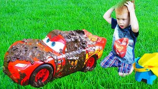 Download Makar and Disney Cars Lightning McQueen Car Wash Mp3 and Videos