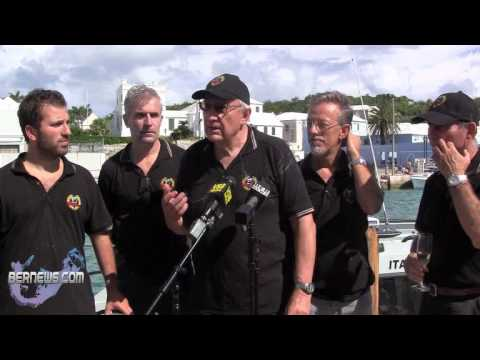 Fabio Buzzi Sets New Bermuda Challenge Record, Sept 28 2012