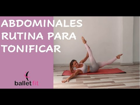 👉🏻 ABDOMINALES: Rutina Express Para Tonificar Al Máximo #Balletfit
