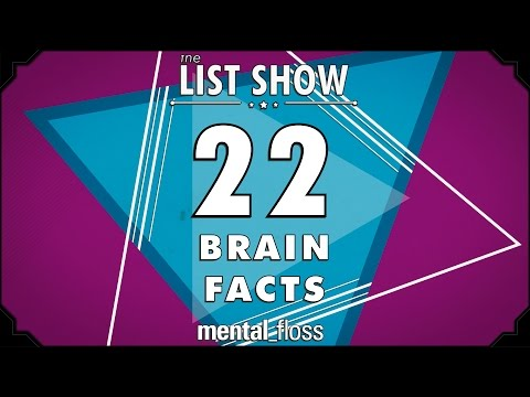 22 Brain Facts - mental_floss List Show Ep. 332