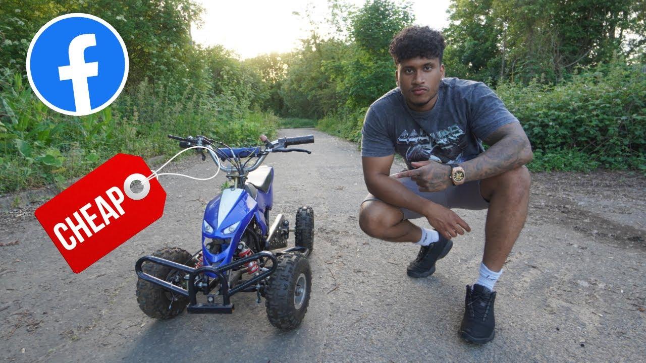 I BOUGHT the CHEAPEST QUAD BIKE on FACEBOOK MARKETPLACE (CHEAP ATV) 😍🤯