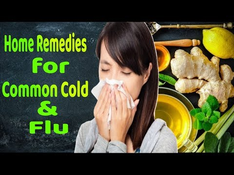 The Best Home Remedies For Common Cold And Flu