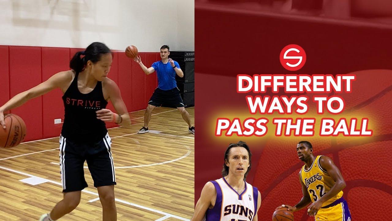 Game Like Passes for Basketball Players