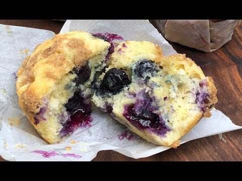 How to make easy blueberry muffins