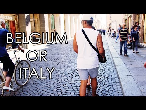 Belgium or Italy? Travel Vlog