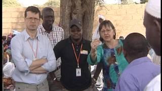 President World Vision International Kevin Jenkins visit to Bambey Senegal