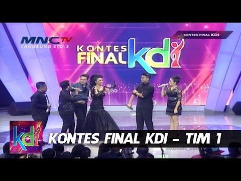 Mumu Cemburu Julia Perez Deket Indra Brugman -  Kontes Final KDI Tim1 (13/5)