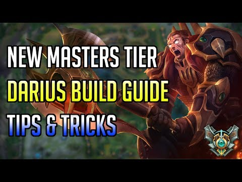 NEW MASTERS TIER DARIUS BUILD GUIDE, TIPS & TRICKS - Brown Man Darius