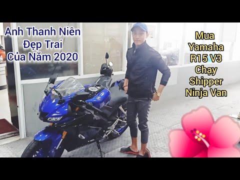 Anh Thanh Niên Đẹp Trai Mua Yamaha R15 V3 Về Chạy Shipper Ninja Van. Trả Trước 15 Triệu | MHV