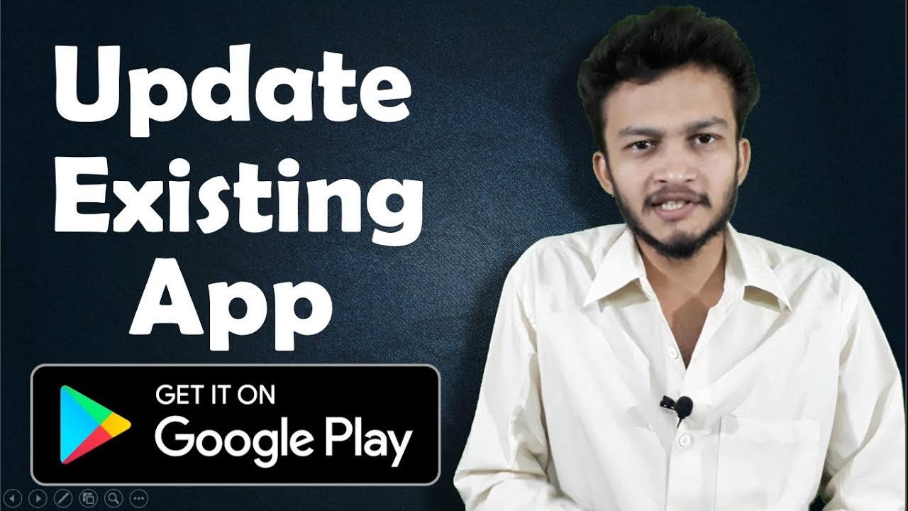 {HINDI} How to update your existing  app in Google Play store    update your android apps