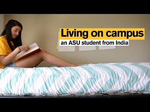 Living on ASU's campus: an international student from India