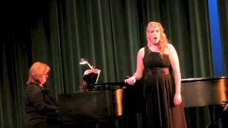 """The Water is Wide"" an American Folk song adapted and arranged by L..."