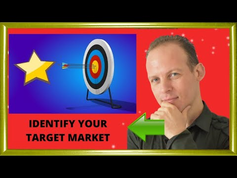 What is a target market & How to identify your target market