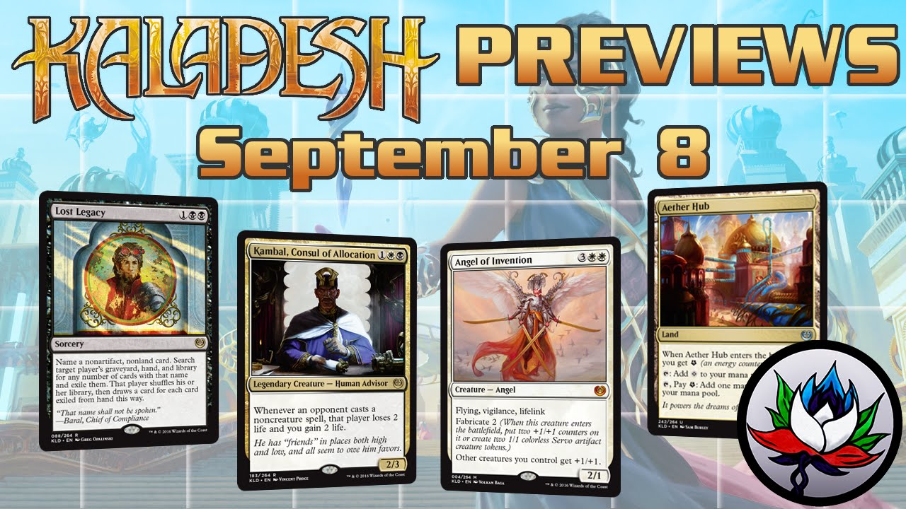 kaladesh spoilers kambal consul of allocation angel of invention