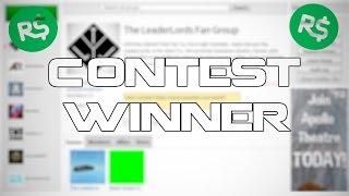 Roblox - ART/VIDEO CONTEST WINNERS!
