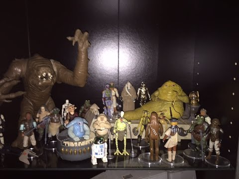 Toy Collection Displays Of The Vintage Geek, Your Host Of The Super Awesome Geek Show!