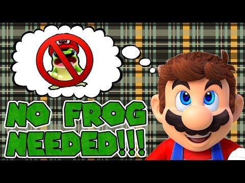 Super Mario Odyssey - Beat the Tutorial Without the Frog
