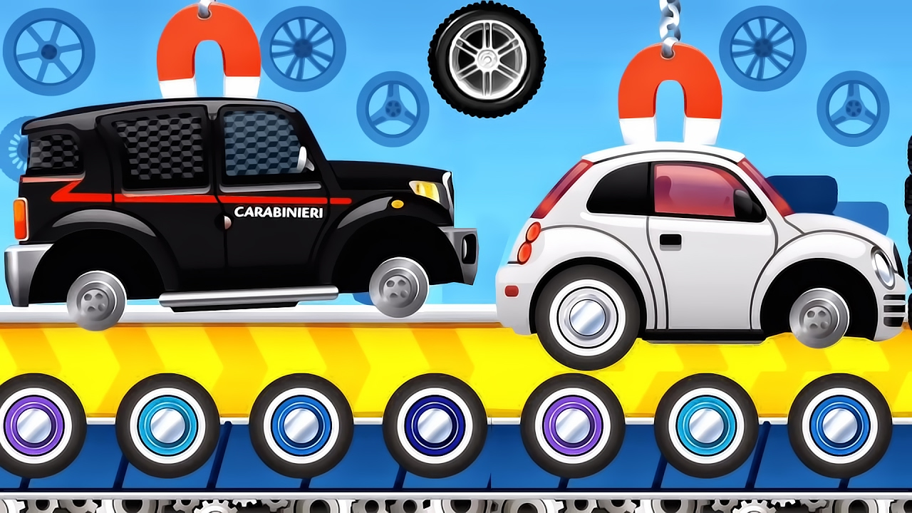 build car dream cars factory car for kids best ios game app for children youtube