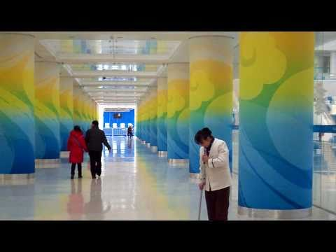 Olympic Water Cube Swimming Pool in Beijing China