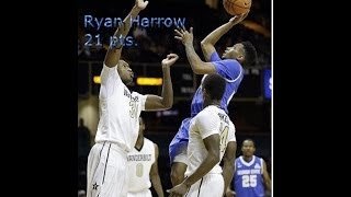 Ryan Harrow Highlights vs. FIU (21 pts.)