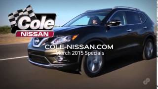 2015 Nissan Rogue Purchase or Lease Offer Cole Nissan March 2015