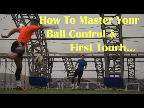 Football Skills  How to Improve your First Touch Ball Control  F2 Freestylers