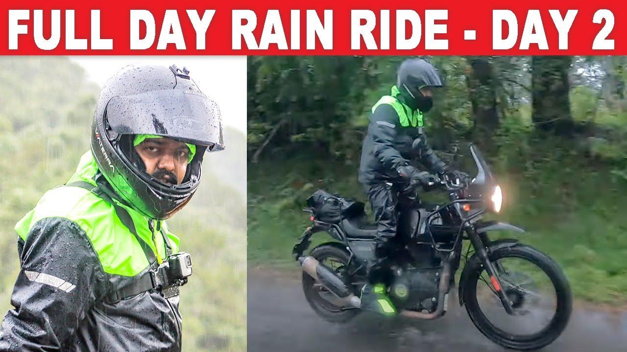 Full Day Rain Ride | Day 02 | TRAVEL TALKS | Into The Ghats | Motor Vikatan