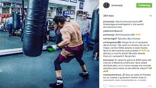 """CHAVEZ JR LOOKS HUGE, BEEFED UP, GENNADY """"GGG"""" GOLOVKIN & ROSADO OPTIONS *EGO WEIGHT WATCHERS*"""
