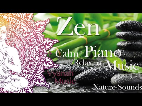 8 Hours Relaxing Music, Background for meditation, Zen, Massage, Spa, Study, Resting and Yoga.