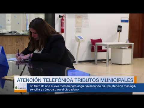 Atención telefónica Tributos Santander