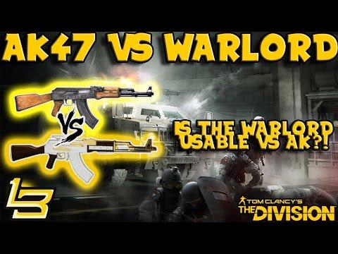 AK47 vs Warlord - BREAKDOWN! (The Division)