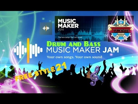 Music Maker Jam *Drum And Bass* Style 21