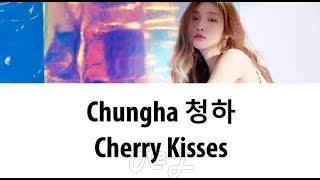 청하 chung ha cherry kisses lyrics color coded han rom eng