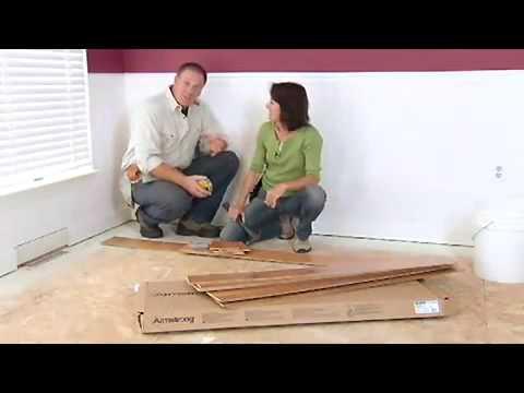 Hardwood Flooring Installation: Glue-Down Installation