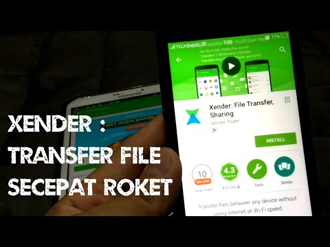 Xender : Cara Transfer File Dengan Aplikasi Xender Secepat Roket.