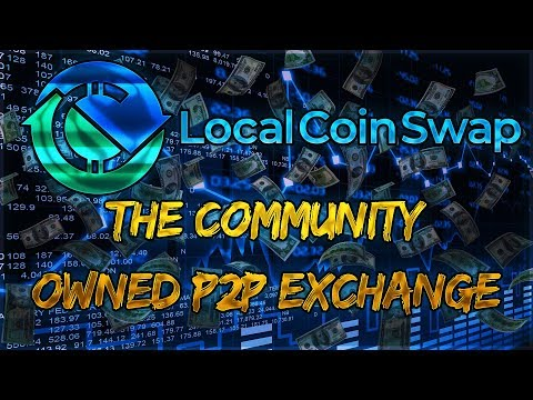 LocalCoinSwap ICO - The Community-Owned P2P Exchange | Distributes 100% Of Profits Back To Its Users