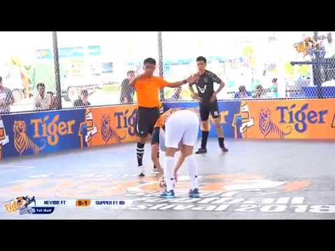 Tiger Street Football Festival 2018 In Phnom Penh , First day 07 March 2018