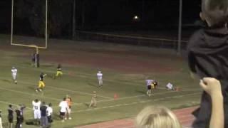 Beau Tanner WR#14: Gilbert High School- 2009