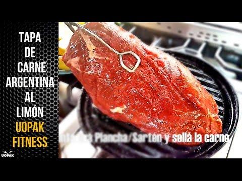 SIMPLES RECETAS FITNESS: TAPA DE CARNE ARGENTINA AL LIMÓN (UOPAK ONLINE FITNESS COACHING)
