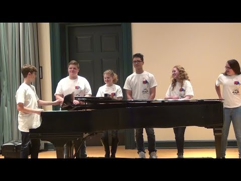 North Dorchester Middle School Chorus Students at Best of MD Arts Education Festival 2018