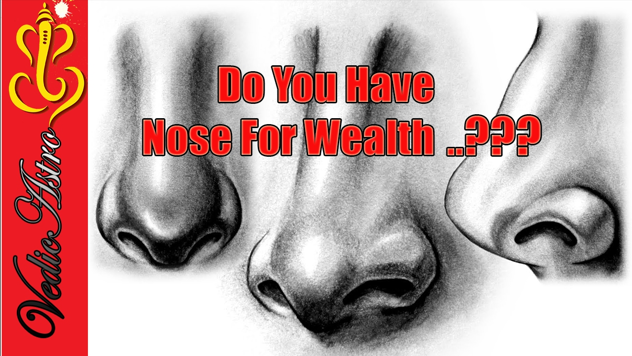 Do you have Nose for Wealth  ?   Face Reading in Hindi   Nose Part-1