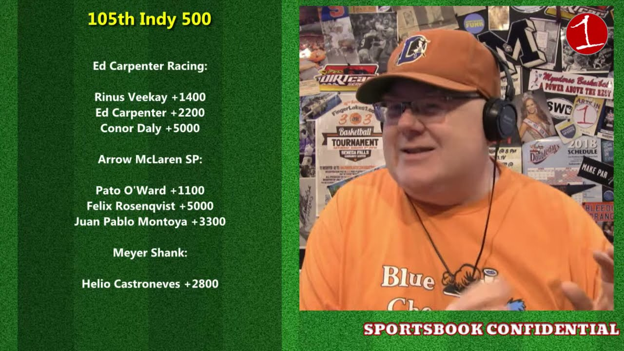 SPORTSBOOK CONFIDENTIAL: Memorial Day Weekend Plays – Indy 500, Coke 600, NHL/NBA (podcast)