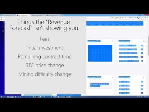 """Why your Hashflare """"Revenue Forecast"""" is misleading you (and others)"""