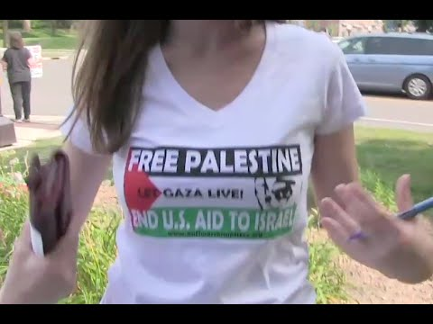 Protests Question Massive US Military Aid To Israel