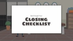 FHA Loan Closing Checklist