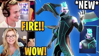 Streamers React to the *NEW* VECTOR Skin & Hexform Wrap! | Fortnite Highlights & Funny Moments