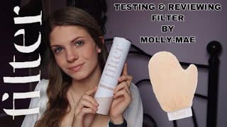 TESTING &amp REVIEWING FILTER BY MOLLY-MAE TAN  PHOENIX HAYLEY