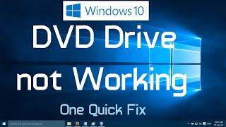 Video DVD Drive not Working in Windows 10 (One Simple Fix) download MP3, 3GP, MP4, WEBM, AVI, FLV Juli 2018